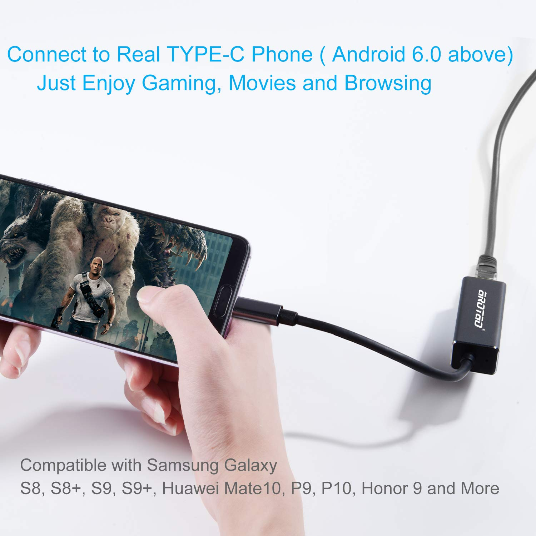aROTaO USB-C to Ethernet Adapter, Thunderbolt 3/ USB 3 1