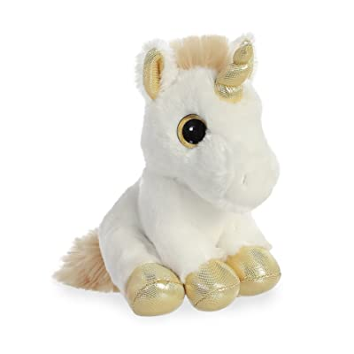 "Aurora - Sparkle Tales - 8"" Gold Unicorn: Toys & Games"