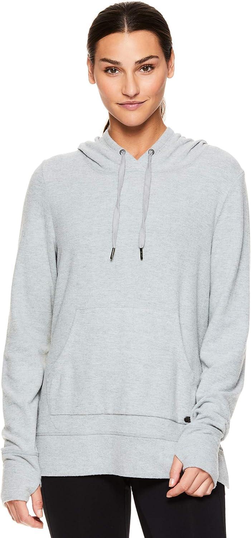Lightweight Long Sleeve Athleisure Sweater Gaiam Womens Pullover Hoodie Yoga Sweatshirt