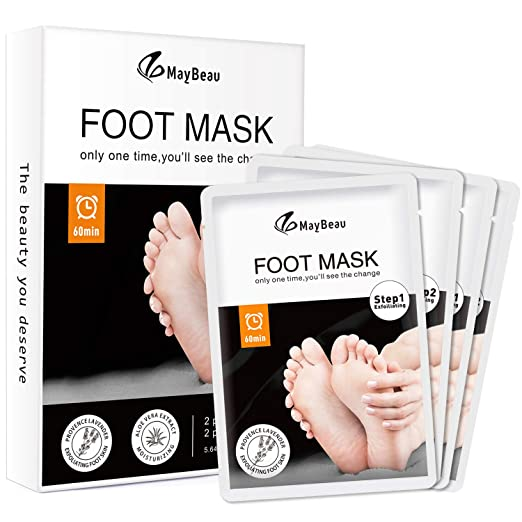 MayBeau Foot Peel Mask ONLY $9...