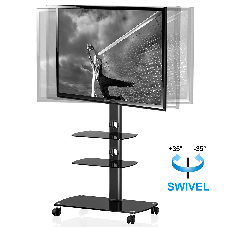 Mesa de Soporte de TV Soporte de Suelo para TV LCD LED HD Soporte de Televisor