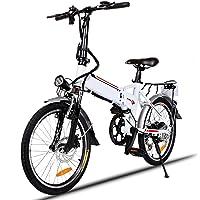 Speedrid Bicicletas eléctricas, Bicicletas Plegables eléctricas de 20''/26''/27.5'' con Ruedas de aleación de magnesio…