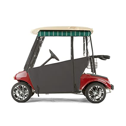 Amazon.com : Club Car DS Golf Cart PRO-Touring Sunbrella Track ... on golf cart side curtains, golf cart rain curtains, golf cart convertible top,