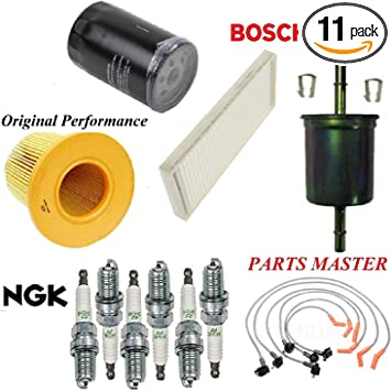 Amazon.com: Tune Up Kit Air Cabin Oil Fuel Filters Wire Spark Plug FIT FORD  WINDSTAR V6 3.8L 1999-2000: Automotive   Windstar Fuel Filter      Amazon.com