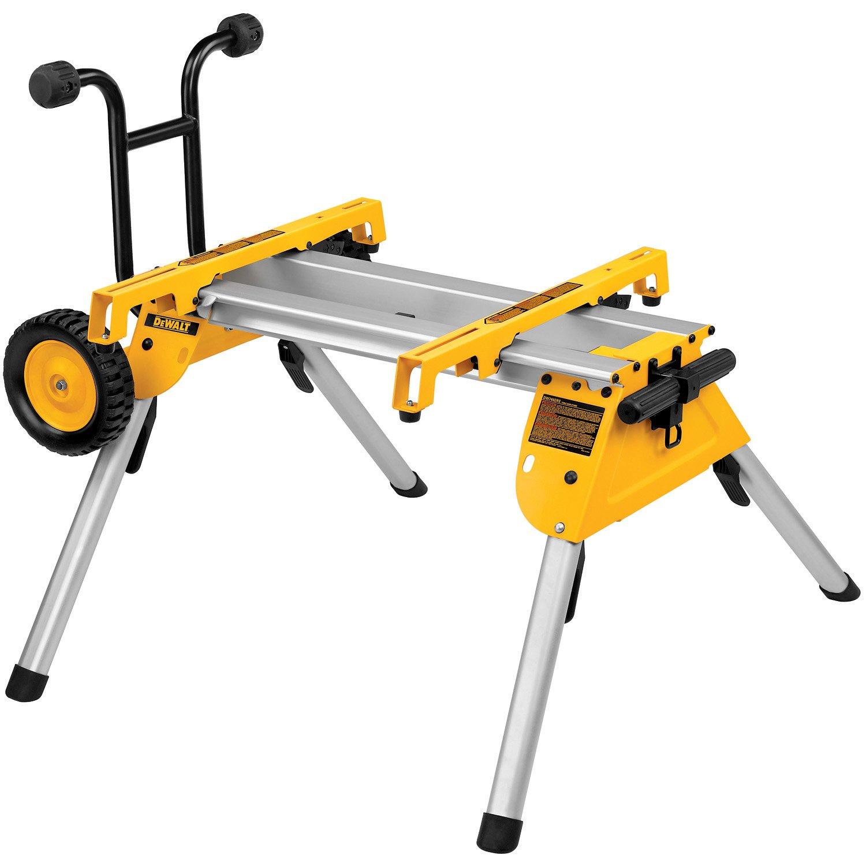 DEWALT Table Saw Stand, Mobile/Rolling  (DW7440RS) by DEWALT