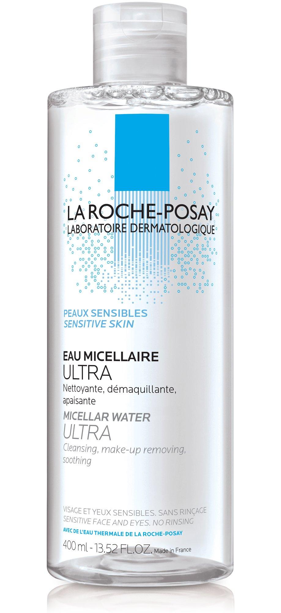 La Roche-Posay Micellar Cleansing Water for Sensitive Skin, 13.5 Fl. Oz. by La Roche-Posay