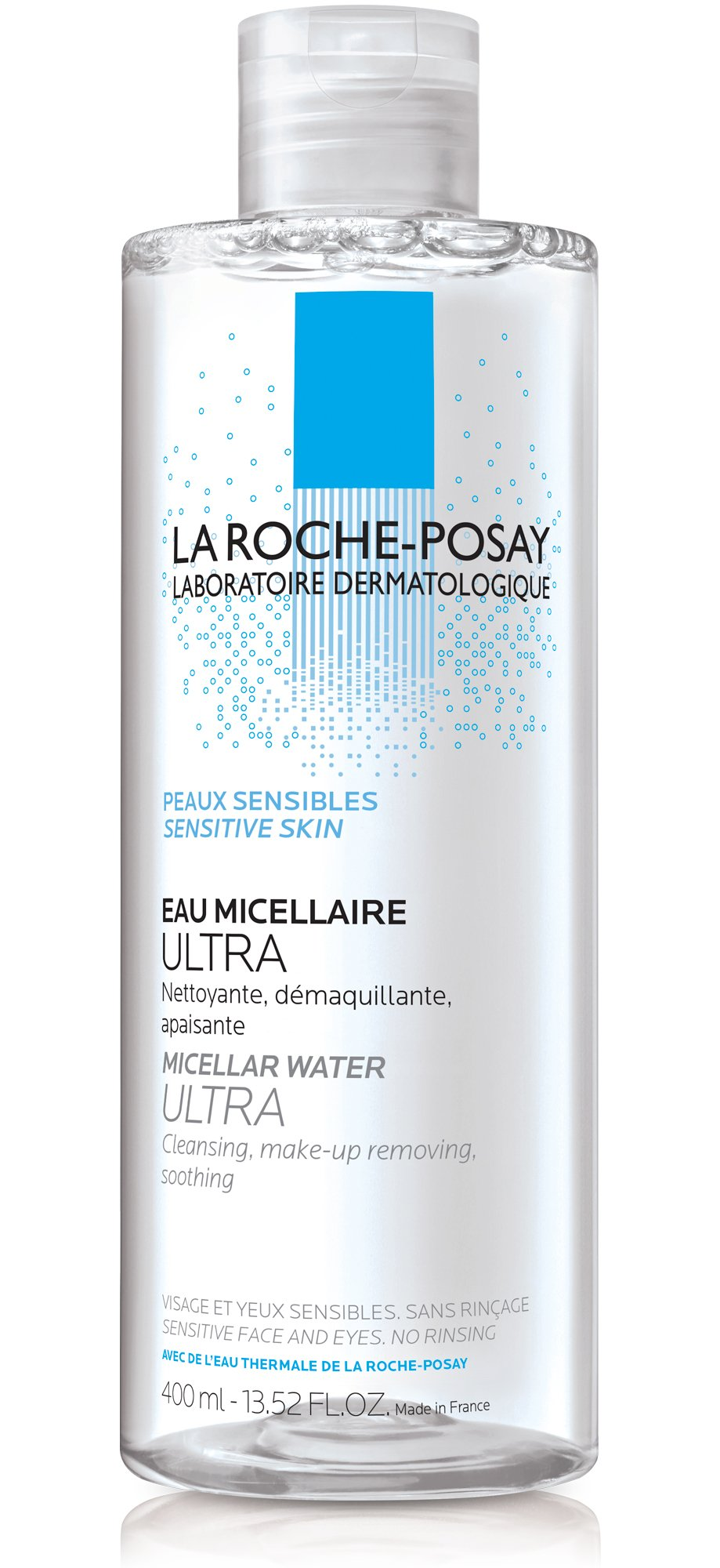 La Roche-Posay Micellar Cleansing Water and Makeup Remover for Sensitive Skin