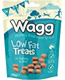 Wagg Low Fat Treats with Turkey and Rice 125gm, Deal of 4