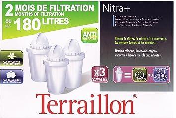Cartouches Filtrantes Terraillon Nitra 2 Mois Ou 180 Jours 3