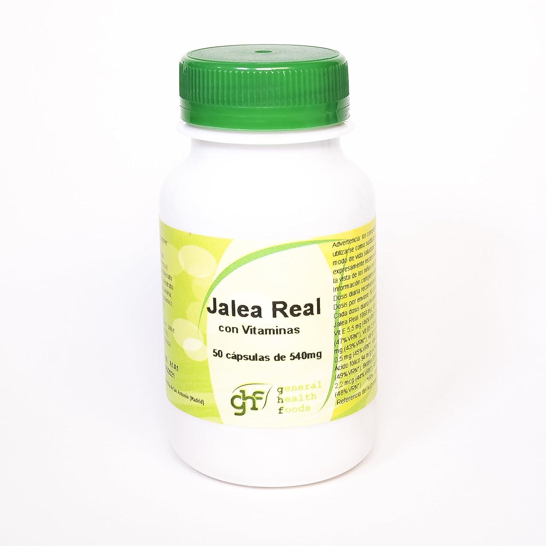 GHF - GHF Jalea Real 50 cápsulas 540 mg: Amazon.es: Salud y cuidado personal