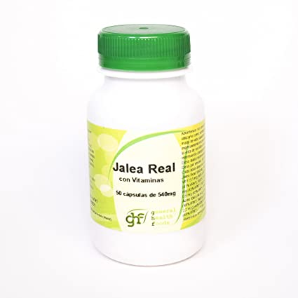 GHF - GHF Jalea Real 50 cápsulas 540 mg