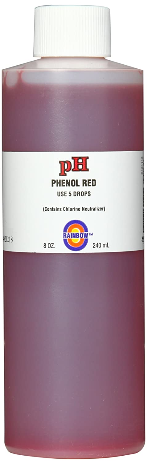 Pentair R161018 pH Solution Phenol Red with Chlorine Neutralizer, 1/2-Ounce
