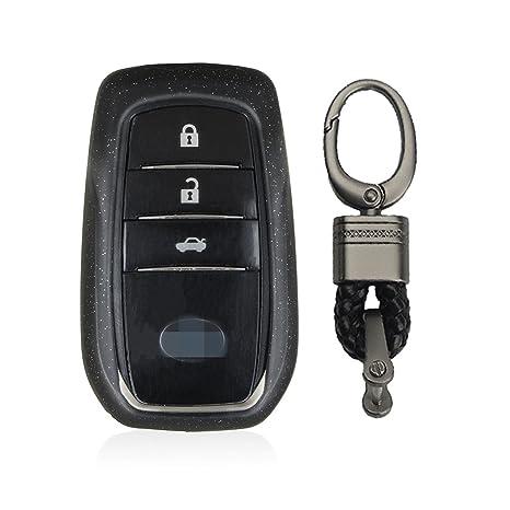Amazon.com: MissBlue - Funda para llave de Toyota, carcasa ...