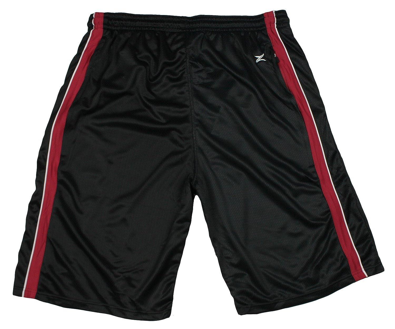 Amazon.com: Miami Heat NBA Basketball Mens Tall Mesh Shorts, Black ...