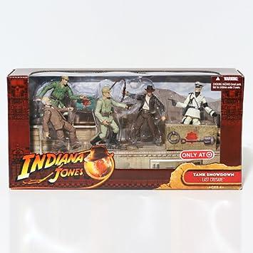 Indiana Jones Movie Deluxe Exclusive Action Figure 5- Pack Tank Showdown by Indiana Jones: Amazon.es: Juguetes y juegos