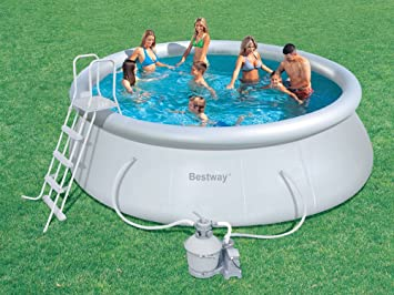 Bestway 57242 - Piscina fast set 457x122cm: Amazon.es: Bricolaje y ...