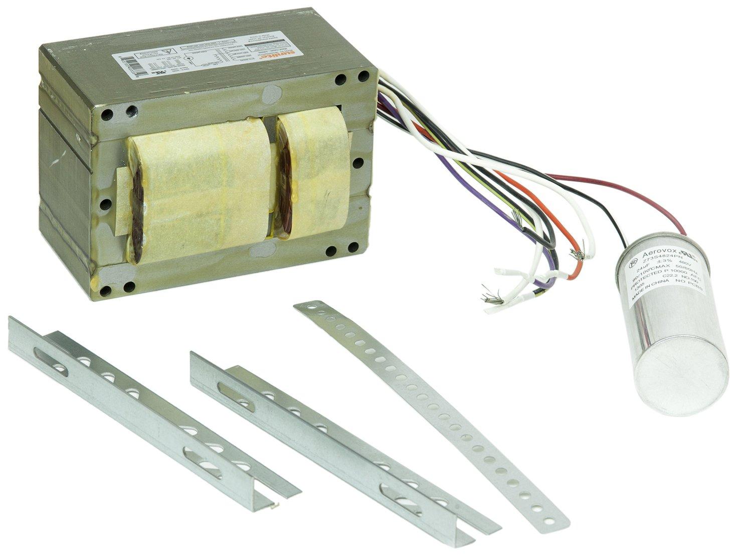 Sunlite 40335-SU SB1000/MH/QT 1000-watt Metal Halide Ballast Quad Tap Ballast Kit, Multi volt