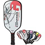 Gamma Legend NeuCore Pickleball Paddles with Honeycomb Grip, Composite Fiberglass Surface, White - USAPA-Approved Pickleball