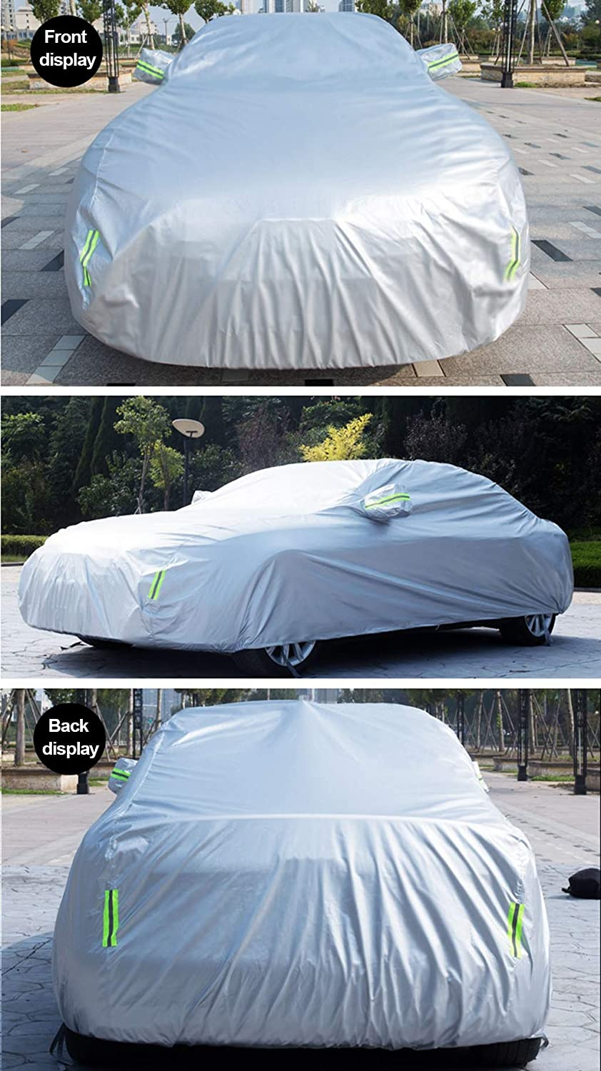 Car Cover Works With BMW M Series Car Cover,All Weather Waterproof Protection From Rain Dust Wind Sun UV Indoor Outdoor Full Car Cover,Customizable