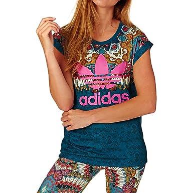 Borbomix CamisetaMujer Adidas Adidas Tee Borbomix RqA3jLc45