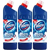Domestos Gel Nettoyant Wc Javel 100% Désinfectant Original 1l - Lot de 3