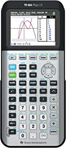 TI-84 Plus CE Color Graphing Calculator, Gray