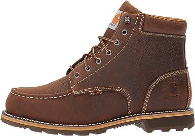 Carhartt Men/'s 6-Inch Waterproof Composite-Toe Work Hiker Boot