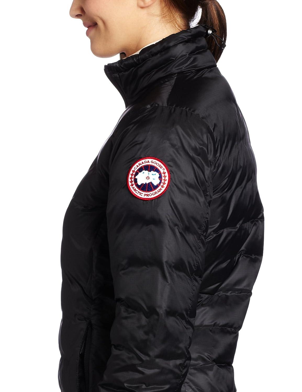 Canada - Abrigo Acolchado de Mujer (Plumas de Ganso, Mujer, Color Negro, tamaño Medium: Amazon.es: Deportes y aire libre