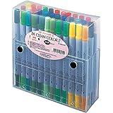 Kuretake Fude Real Brush Pen, Twin, ZIG Clean Color II, 36 Set (TC-6600/36V)