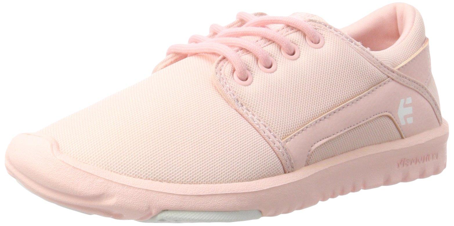 Etnies Womens Women's Scout W's Skate Shoe, Pink/Pink/White, 8.5 Medium US