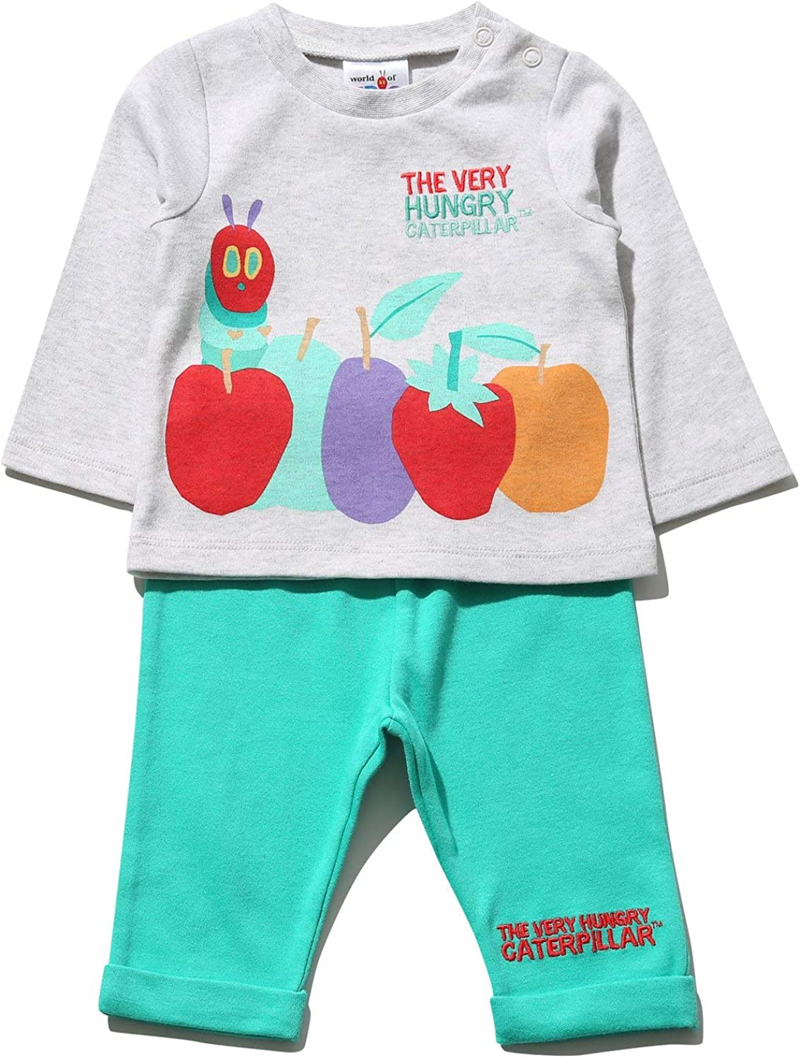 M/&Co The Very Hungry Caterpillar Baby Top and Jogger Set