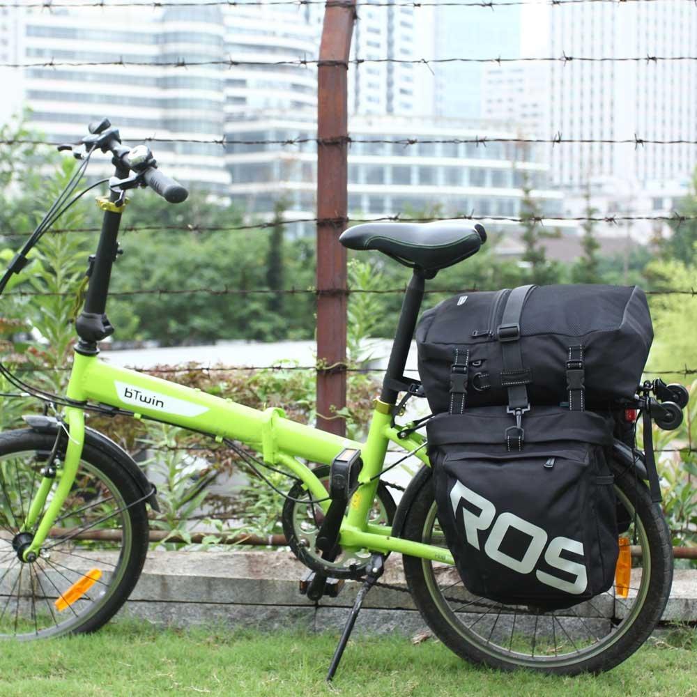 Docooler 3 en 1 multifunción Carretera MTB Bicicleta de montaña Bolsa Bicicleta alforja Asiento Trasero Maletero Bolsa: Amazon.es: Deportes y aire libre