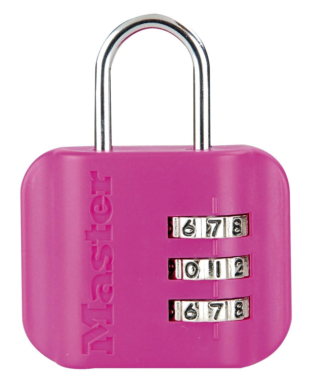 Master Lock 4670EURDCOL Cadenas porte-adresse combi 44 mm