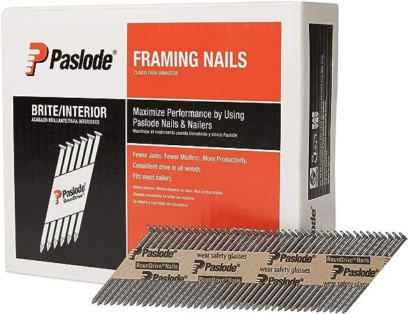 PASLODE 141233 90mm Straight Shanked Bright Framing Nails 2200