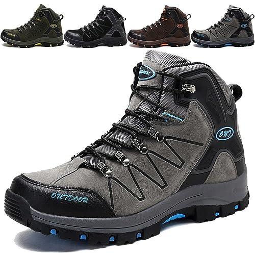 KAMIXIN Zapatos de Senderismo Hombre Outdoor Botas de Trekking Zapatillas de Senderismo Escalada Zapatos de Montaña Botas de Senderismo: Amazon.es: Zapatos ...