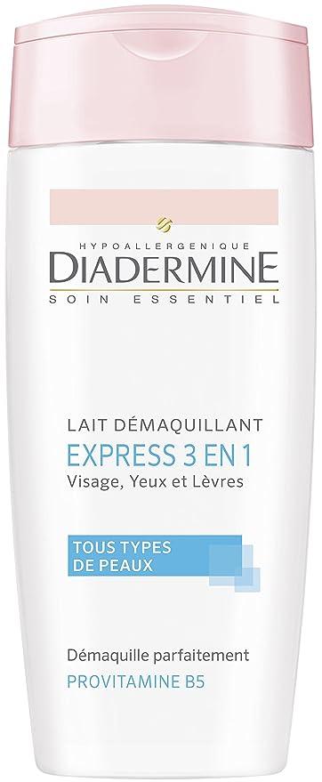 Diadermine – Leche desmaquillante Express 3 en 1 – 200 ml