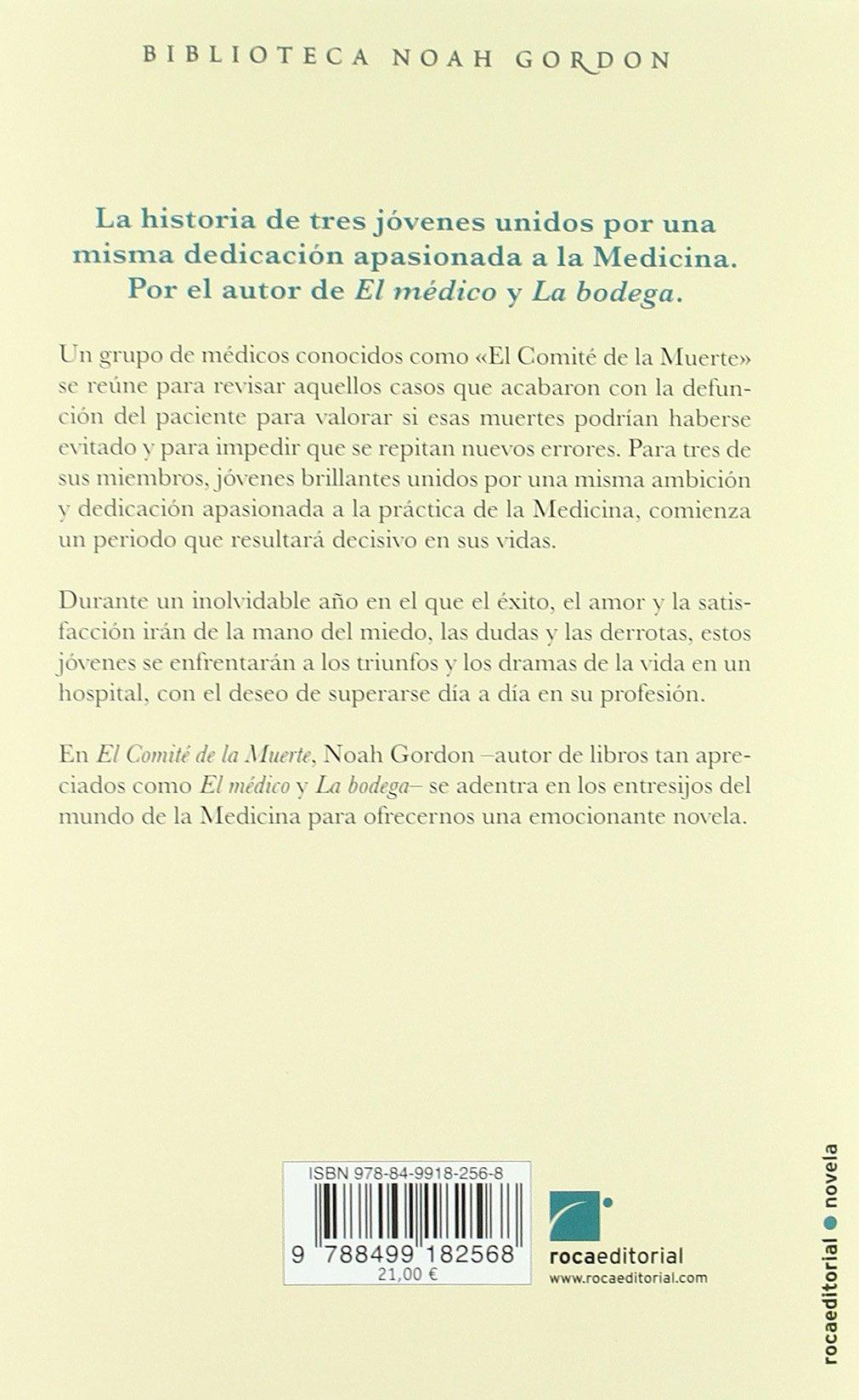 El comité de la muerte: Amazon.co.uk: Noah Gordon, Jesús Pardo:  9788499182568: Books