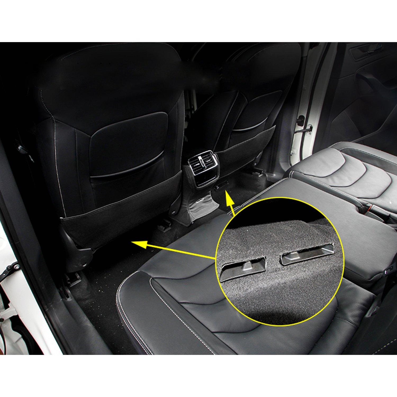 Housse pour Tiguan 2/Air Vent voiture Si/ège arri/ère climatisation Outlet Cover 2/boulons