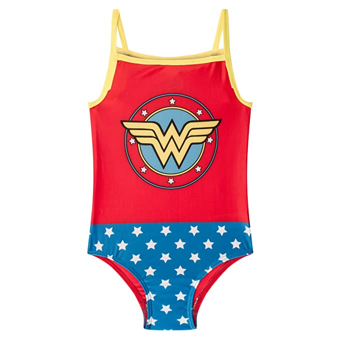 Amazon.com: DC Comics - Traje de baño para mujer, diseño de ...