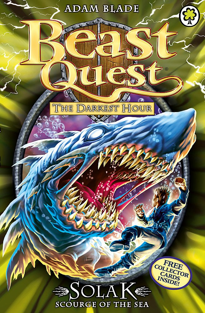 Buy Solak Scourge Of The Sea Series 12 Book 1 67 Beast Quest Book Online At Low Prices In India Solak Scourge Of The Sea Series 12 Book 1 67 Beast Quest Reviews Ratings Amazon In