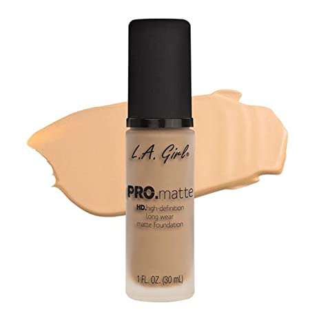 L.A. Girl Pro Matte Foundation   Bisque by L.A. Girl Cosmetics