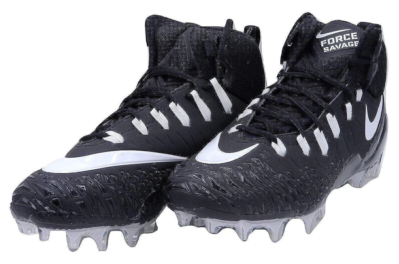 26cc1c3b6 Amazon.com | Nike Force Savage Elite TD (Wide) Size 14 Football Cleats  Black | Football