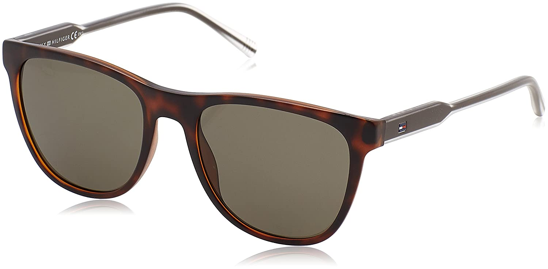 Tommy Hilfiger TH 1440/S 70 Gafas de sol, Hvna Cry Brw, 54 Unisex-Adulto