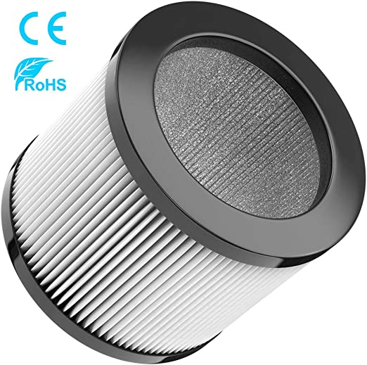 Duomishu Filtro HEPA Mini Purificador de Aire de Escritorio USB Purificador de Aire Limpiador de Aire: Amazon.es: Hogar