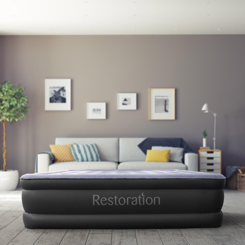 amazon com sleep restoration queen size air mattress best