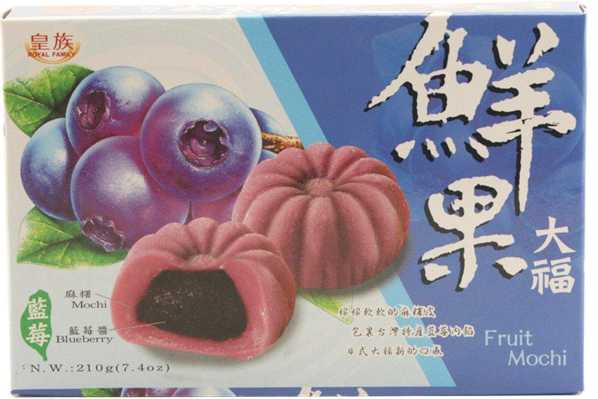 Royal Family - Fruit Mochi Blueberry Flavor 7.40 Oz Z (Pack of 1)