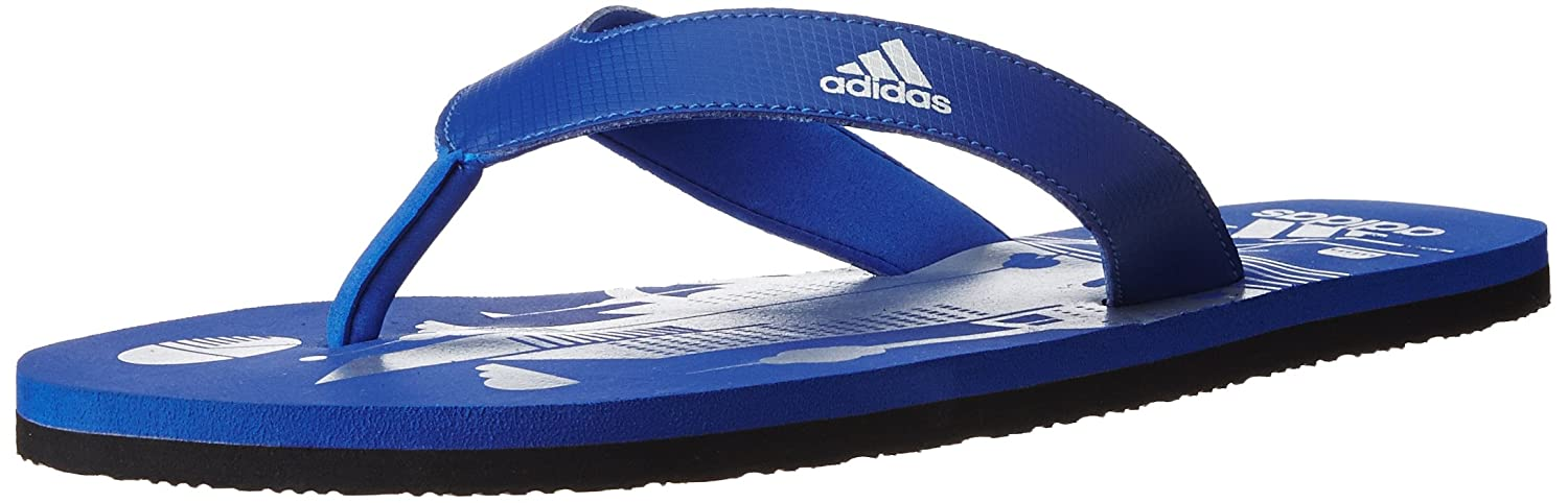 4f5351fd9 Adidas Men s Beach Print Max Out Men Croyal and Silvmt Flip-Flops and House  Slippers - 9 UK India (43.33 EU)  Buy Online at Low Prices in India -  Amazon.in