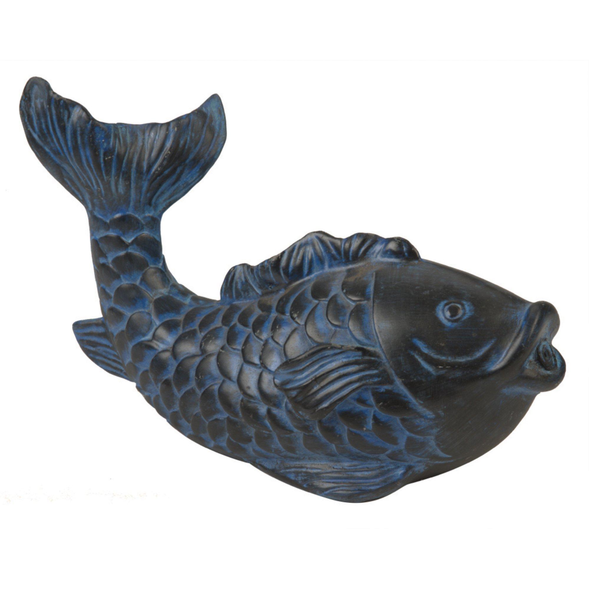 Pond Boss SFHB Blue Fish Spitter