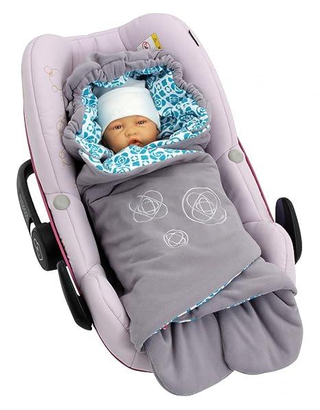 ByBoom® - Manta para entretiempo y verano con patrón, para portabebés, asiento de