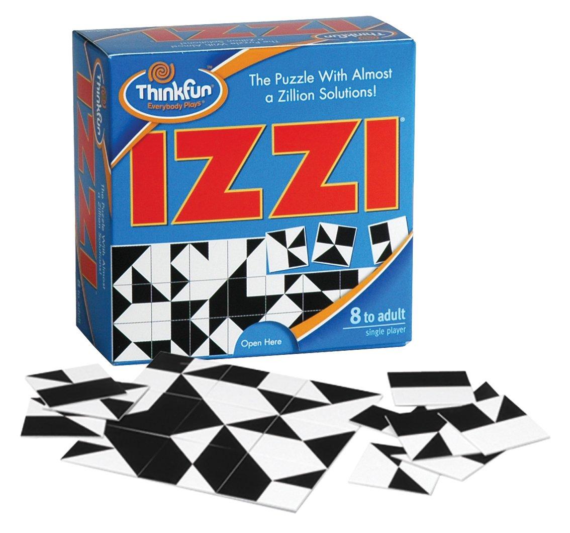 Builds Thinking Skills Through Fun Gameplay 5680 ThinkFun Izzi Puzzle
